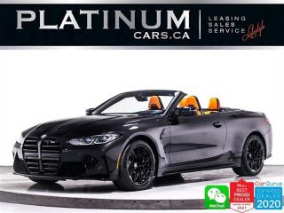 Used 2022 BMW M4 Competition xDrive, 503HP ,AWD , CONVERTIBLE ,NAV for sale in Toronto, ON