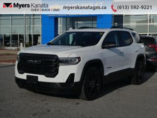 New 2022 GMC Acadia SLE AWD  - Heated Seats -  Power Liftgate for sale in Kanata, ON