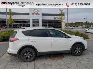 Used 2016 Toyota RAV4 SE  - Navigation -  Sunroof -  Leather Seats for sale in Ottawa, ON