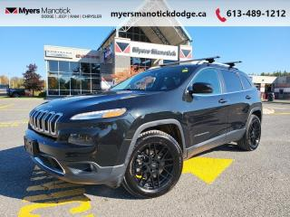 Used 2016 Jeep Cherokee Limited  Leather , Navi, Tow PKG for sale in Ottawa, ON