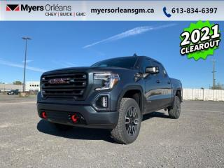 New 2021 GMC Sierra 1500 AT4  - Leather Seats - Heated Seats for sale in Orleans, ON