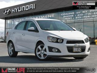 Used 2015 Chevrolet Sonic LTZ  - Power Sunroof -  Bluetooth - $84 B/W for sale in Nepean, ON