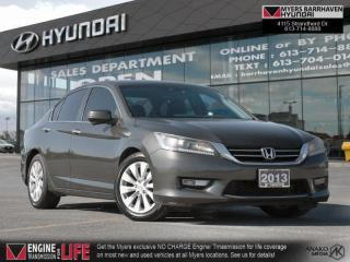 Used 2013 Honda Accord Sedan EX-L  - Leather Seats for sale in Nepean, ON