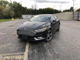 Used 2018 Ford Fusion Titanium AWD for sale in Cayuga, ON