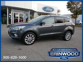 Used 2017 Ford Escape Titanium for sale in Mississauga, ON