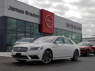 Used 2018 Lincoln Continental Reserve for sale in Kingston, ON
