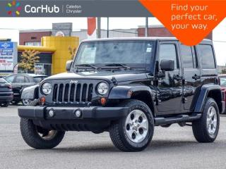 Used 2013 Jeep Wrangler Unlimited Sahara 4x4 Hard Top Navigation Bluetooth Remote Start Leather Heated front Seats 18