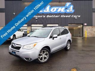 Used 2015 Subaru Forester 2.5i Limited w/ EyeSight, Navigation, Leather, Sunroof, Reverse Camera, Power Liftgate & Much More! for sale in Guelph, ON