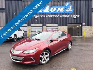 Used 2017 Chevrolet Volt LT, Leather, Heated Seats+Steering Wheel, Reverse Camera, Remote Start & Much More! for sale in Guelph, ON