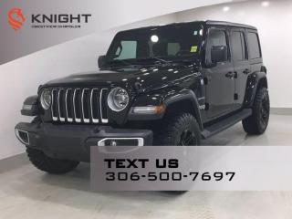 Used 2018 Jeep Wrangler Unlimited Sahara   Leather   Navigation   for sale in Regina, SK
