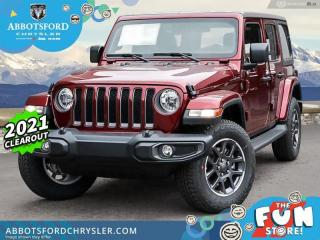New 2021 Jeep Wrangler 80th Anniversary Unlimited for sale in Abbotsford, BC
