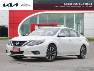 Used 2017 Nissan Altima 2.5 NAV, ROOF, LEATHER, HEATED SEATS for sale in Mississauga, ON
