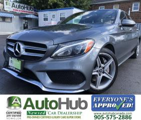 Used 2018 Mercedes-Benz C-Class C300 4MATIC/Turbo/Premium/Sport/AMG package! for sale in Hamilton, ON