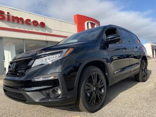 New 2022 Honda Pilot Black Edition for sale in Simcoe, ON
