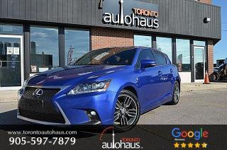 Used 2014 Lexus CT 200h F-SPORT I SUNROOF I LEATHER I CAMERA for sale in Concord, ON