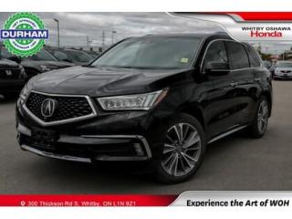 Used 2017 Acura MDX SH-AWD Elite Nav Milano Leather for sale in Whitby, ON