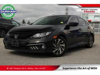 Used 2019 Honda Civic EX CVT Sunroof Backup Camera Heated Seats for sale in Whitby, ON