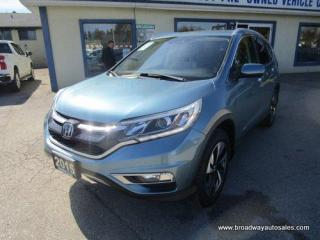 Used 2015 Honda CR-V ALL-WHEEL DRIVE TOURING-EDITION 2.4L - DOHC.. ECON-MODE-PACKAGE.. LEATHER.. HEATED SEATS.. POWER SUNROOF.. BACK-UP CAMERA.. BLUETOOTH SYSTEM.. for sale in Bradford, ON
