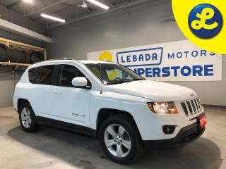 Used 2016 Jeep Compass High Altitude 4WD * Sunroof *  Heated Leather Seats * Power Driver Seat * Hands Free Calling * Voice Recognition * Cruise Control * Steering Wheel Con for sale in Cambridge, ON
