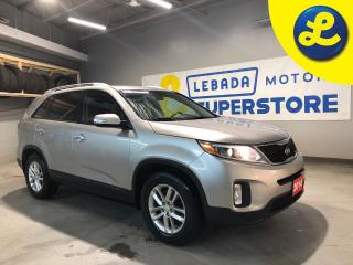 Used 2014 Kia Sorento Park Assist * Active Eco Mode * Cruise Control * Steering Wheel Controls * Hands Free Calling * Keyless Entry * Automatic Headlights * Automatic/Manua for sale in Cambridge, ON