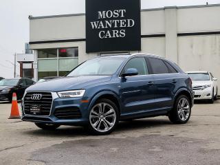 Used 2017 Audi Q3 S-LINE | QUATTRO | TECHNIK | NAV | BLIND SPOT | PANORAMIC for sale in Kitchener, ON