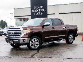 Used 2017 Toyota Tundra 4X4 | CREWCAB | 1794 EDITION | NAV | LEATHER for sale in Kitchener, ON
