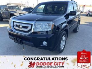 Used 2011 Honda Pilot EX-L- 4WD, Leather, Sunroof, Heated Seats for sale in Saskatoon, SK