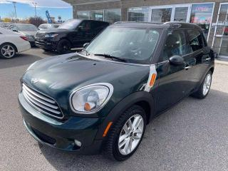 Used 2014 MINI Cooper Countryman COUNTRYMAN MANUAL LEATHER PANOROOF for sale in Calgary, AB