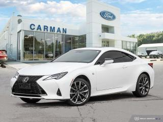 Used 2020 Lexus RC RC 350 AWD F-SPORT for sale in Carman, MB