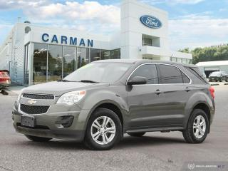 Used 2013 Chevrolet Equinox LS for sale in Carman, MB