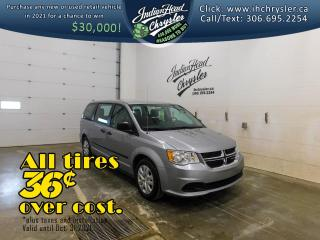 Used 2017 Dodge Grand Caravan Canada Value Package   Cruise Control for sale in Indian Head, SK