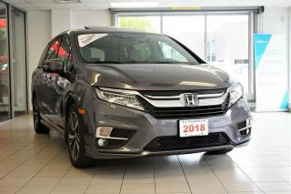 Used 2018 Honda Odyssey Touring for sale in Burnaby, BC