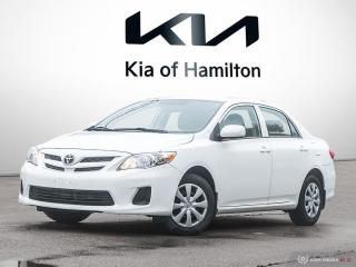 Used 2013 Toyota Corolla CE for sale in Hamilton, ON