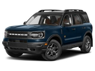 New 2021 Ford Bronco Sport BADLANDS for sale in Chatham, ON
