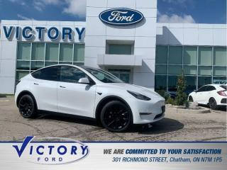 Used 2021 Tesla Model Y Long Range | AUTOPILOT | NAV | GLASS ROOF for sale in Chatham, ON