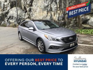 Used 2016 Hyundai Sonata Sport Tech Remote starter included! for sale in Sudbury, ON
