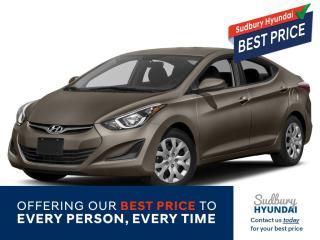 Used 2014 Hyundai Elantra GL for sale in Sudbury, ON