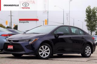 Used 2020 Toyota Corolla LE, HEATED SEATS, APPLE CARPLAY, BLIND SPOT MONITORING, LANE KEEPING ASSIST, RADAR CRUISE CONTROL for sale in Orangeville, ON