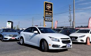 Used 2016 Chevrolet Cruze No Accidents|Limited|Sunroof|Heatedseat| Certified for sale in Brampton, ON