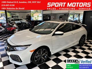 Used 2017 Honda Civic Si 6 Speed+GPS+Roof+New Brakes+LEDs+CLEAN CARFAX for sale in London, ON