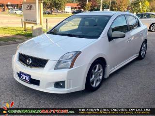Used 2010 Nissan Sentra SE-R|LOW KM|SUNROOF|NAVIGATION|AUX PORT|CERTIFIED for sale in Oakville, ON