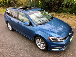 Used 2018 Volkswagen Golf SportWagen Trendline with only 83200 km $73 weekly for sale in Perth, ON