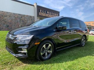 Used 2018 Honda Odyssey EX-L RES NAVI TV-DVD SIDE & REAR VIEW CAM LDA for sale in North York, ON