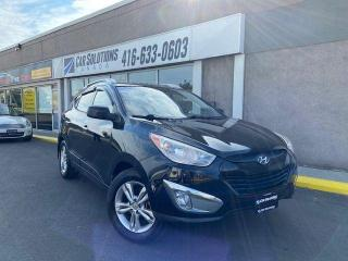 Used 2012 Hyundai Tucson GLS-AWD-LEATHER-ALLOYS for sale in Toronto, ON