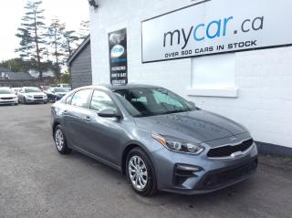 Used 2020 Kia Forte LX BACKUP CAM. HEATED SEATS. A/C. POWER GROUP. for sale in Kingston, ON