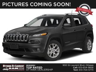 Used 2014 Jeep Cherokee North COLD WEATHER GROUP, TRAILER TOW GROUP, 5.0 TOUCHSCREEN for sale in Ottawa, ON