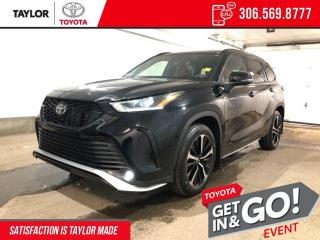 New 2021 Toyota Highlander XSE for sale in Regina, SK