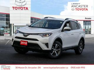 Used 2018 Toyota RAV4 LE | BACKUP CAM | BLUETOOH for sale in Ancaster, ON