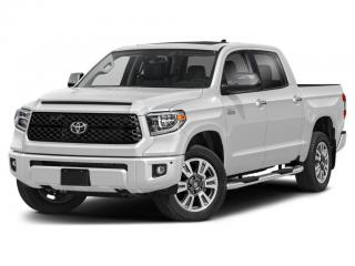 New 2021 Toyota Tundra Platinum for sale in Ancaster, ON