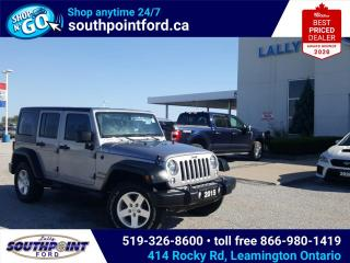 Used 2015 Jeep Wrangler Unlimited Sport UNLIMITED SPORT|4X4|HARD TOP|SOFT TOP for sale in Leamington, ON